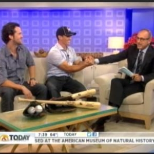 Earlier on the Today Show he was offered a one-at-bat by the Florida Marlins.  Interview arranged by MediaOne.